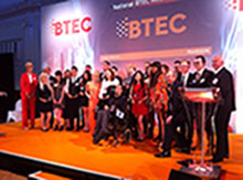 BTEC award ceremony